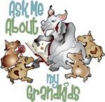 Goat Grandkids Grandma