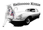 E-type Jag Helloooo Kittie