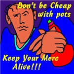 don't be cheap with pots