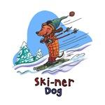 Ski-ner Dog