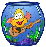 Fish Playing Guitar