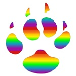 Gay Bear Paw T-Shirts & Gifts