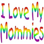 I Love My Mommies (Rainbow) Baby Wear & Gifts
