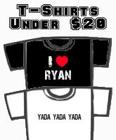T-Shirts Under $20!