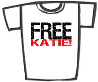 FREE KATIE! T-Shirts & Gifts