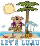 Lets Luau Boy Monkey