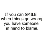 If you can smile...