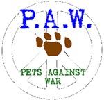 P.A.W. Pets Agains War