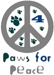 Paws for Peace Grey