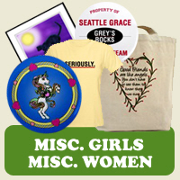 Misc. Female : Tees, Gifts &  Apparel