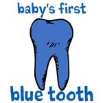 BABY'S BLUE TOOTH