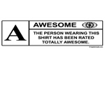 Rated Awesome Shirt