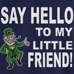 Little Friend Leprechaun T-Shirt