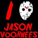 I Love Jason Voorhees Shirt