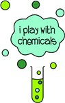 Cute I play with chemicals design, with a bubbling test ube and cloud of green gas! Perfect for baby scientists or little troublemakers. Available on loads of products, from baby clothing and bibs, to accessories and more!