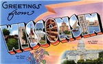 Greetings from Wisconsin T-shirt Tshirts & Gifts