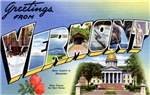 Greetings from Vermont T-shirt Tshirts & Gifts