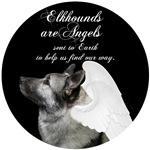 Norwegian Elkhound Angels