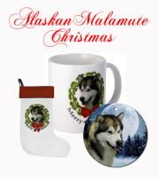 Malamute Christmas