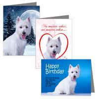 Westie Greeting Cards