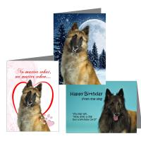 Belgian Tervuren Greeting Cards
