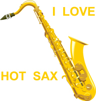 I LOVE HOT SAX