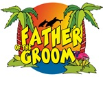 Father of the Groom Beach T-Shirts