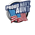 Navy Aunt T-Shirts