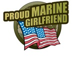 Marine Girlfriend T-Shirts