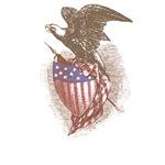 American Flag Eagle T-shirts