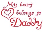 My Heart Belongs to Daddy T-Shirts
