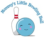 Mommy's Little Bowling Ball T-Shirts