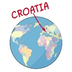 Where is Croatia T-Shirts and Gifts