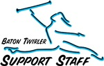 Baton Twirler Support Staff