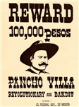 Wanted Pancho Villa