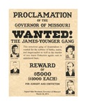 James Younger Gang Wanted