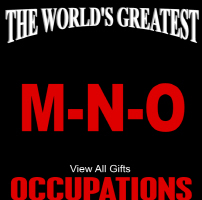 The World's Greatest Occupations M-N-O