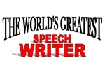 The World's Greatest Speech Writer