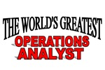 The World's Greatest Operations Analyst