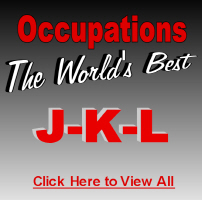 The World's Best Occupations J-K-L