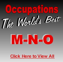 The World's Best Occupations M-N-O