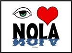 Eye Love NOLA (green)