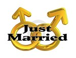 Men Just Married