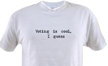 Voting is cool, I guess