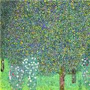 Klimt - Rosebushes