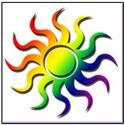 RAINBOW SUNBURST