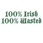 100% Irish 100% Wasted