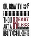Oh Gravity Sheldon Cooper