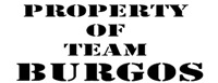 Property of team Burgos