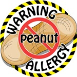Warning Peanut